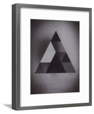 Try 2-Spires-Framed Art Print