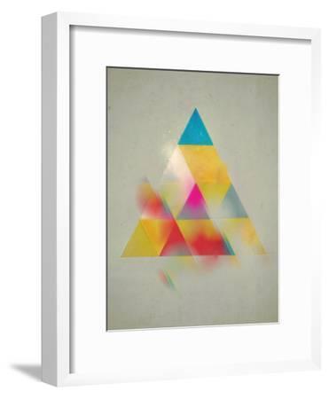 Try 1-Spires-Framed Art Print