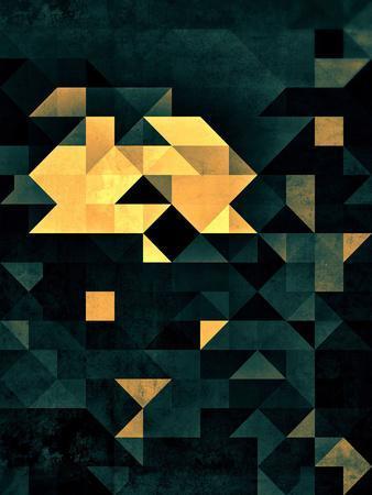 Wytyrfyre-Spires-Framed Art Print
