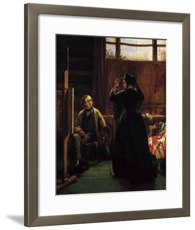William Powell Frith, 1867-William Powell Frith-Framed Premium Giclee Print