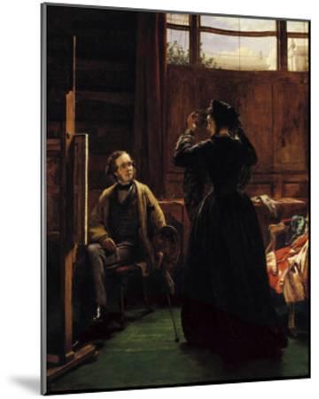 William Powell Frith, 1867-William Powell Frith-Mounted Premium Giclee Print