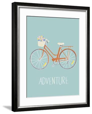 Pedal Power-Clara Wells-Framed Giclee Print