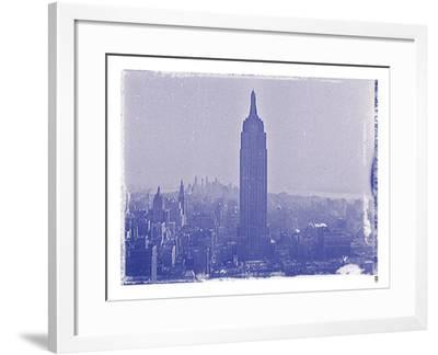 New York City In Winter VII In Colour-British Pathe-Framed Giclee Print