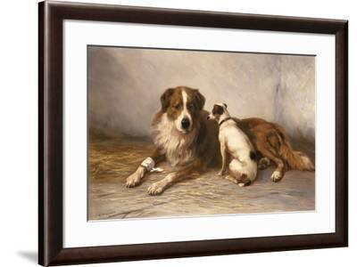 Visiting Time-Henry Garland-Framed Giclee Print