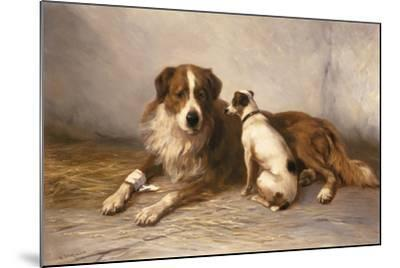 Visiting Time-Henry Garland-Mounted Giclee Print