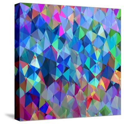 Geometric Squared IV-Jan Tatum-Stretched Canvas Print