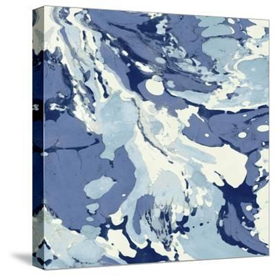Marbleized I-Danielle Carson-Stretched Canvas Print