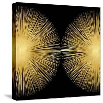 Sunburst on Black II-Abby Young-Stretched Canvas Print