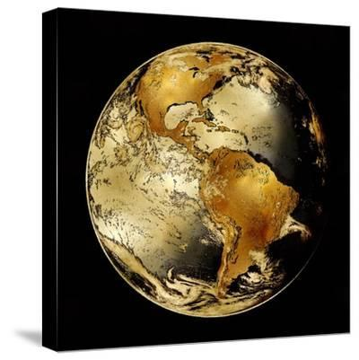 World Turning IV-Russell Brennan-Stretched Canvas Print