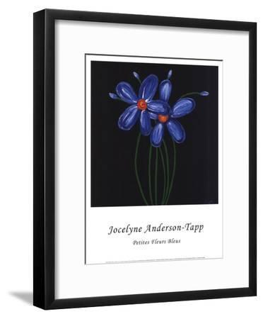 Petite Bleu-Jocelyne Anderson-Tapp-Framed Art Print