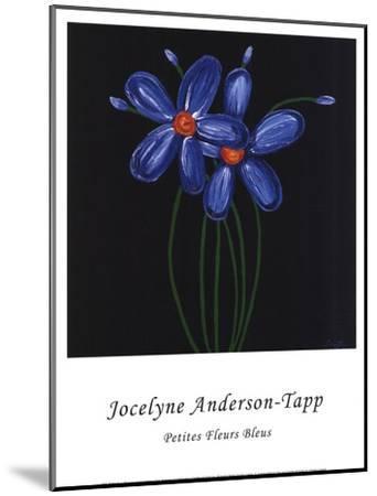 Petite Bleu-Jocelyne Anderson-Tapp-Mounted Art Print