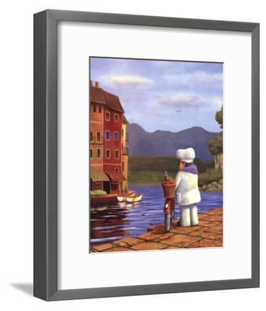 The Road to Portofino-Bryan Ubaghs-Framed Art Print