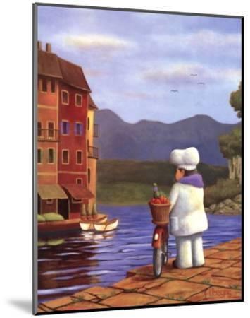 The Road to Portofino-Bryan Ubaghs-Mounted Art Print