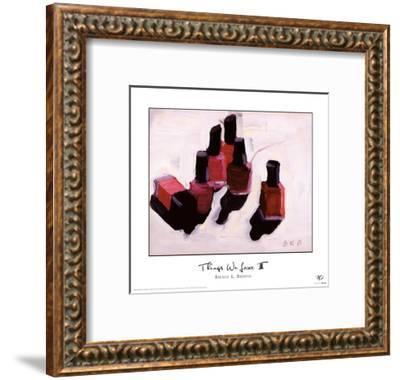 Things We Love III-Brenda K^ Bredvik-Framed Art Print