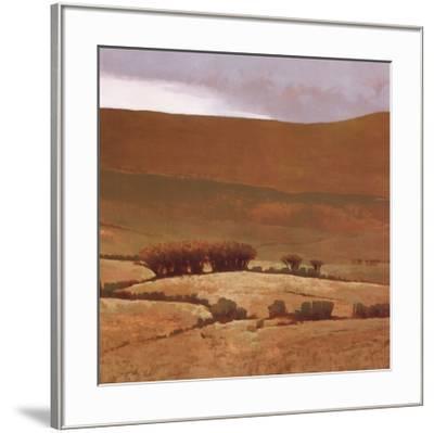 Toward the Hill-Marcus Bohne-Framed Art Print