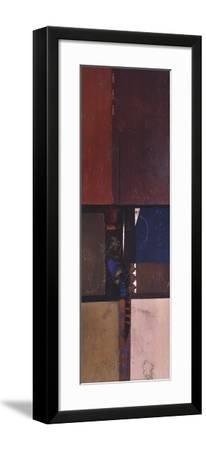 Transcending Borders Present-Betty Johnson-Framed Art Print