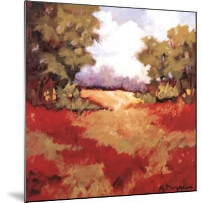 Scarlet Fields II-Maija Baynes-Mounted Art Print