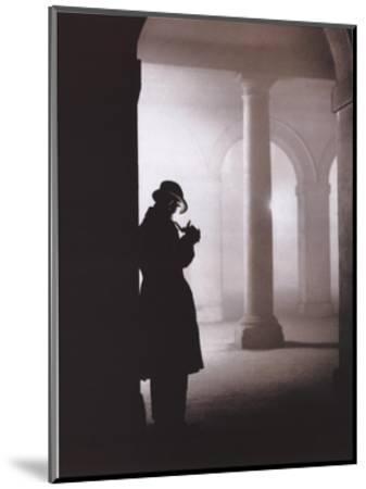 Silhouette--Mounted Art Print