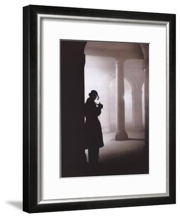 Silhouette--Framed Art Print