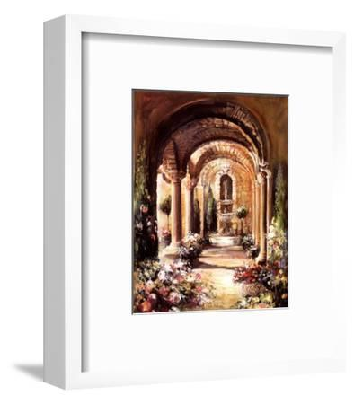 Viterbo-Mary Dulon-Framed Art Print