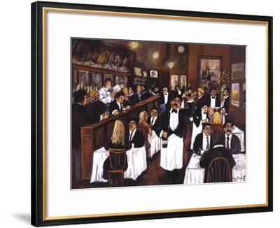 Washington Square Bar & Grill-Guy Buffet-Framed Art Print
