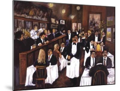 Washington Square Bar & Grill-Guy Buffet-Mounted Art Print