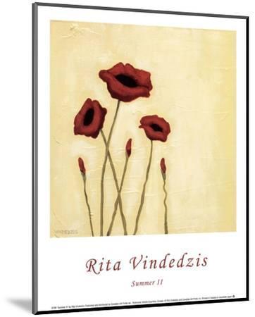 Summer II-Rita Vindedzis-Mounted Art Print