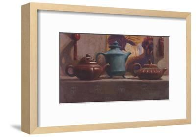 Tea and Silk Tassels-Cathy Lamb-Framed Art Print