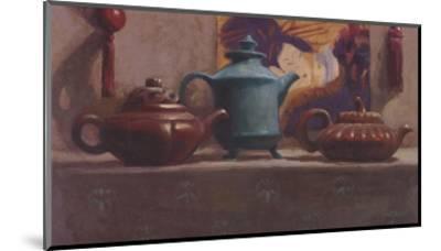 Tea and Silk Tassels-Cathy Lamb-Mounted Art Print