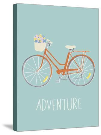 Pedal Power-Clara Wells-Stretched Canvas Print