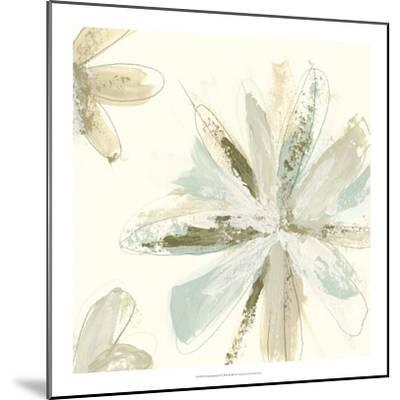 Floral Impasto II-June Erica Vess-Mounted Giclee Print