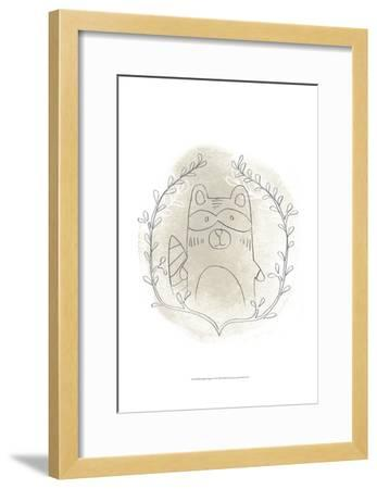 Woodland Vignettes II-June Erica Vess-Framed Art Print
