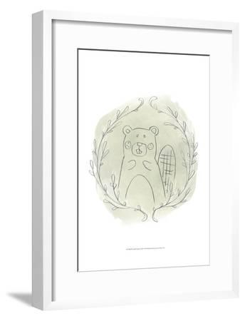 Woodland Vignettes III-June Erica Vess-Framed Art Print