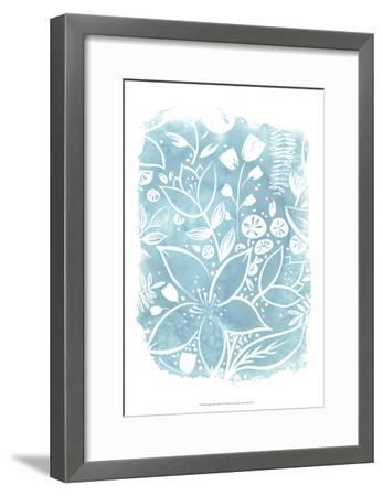 Garden Batik VIII-June Erica Vess-Framed Art Print