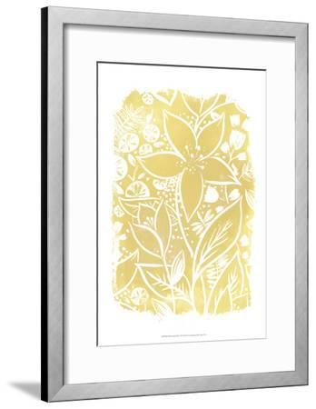 Garden Batik IX-June Erica Vess-Framed Art Print