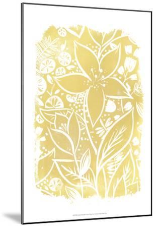 Garden Batik IX-June Erica Vess-Mounted Art Print