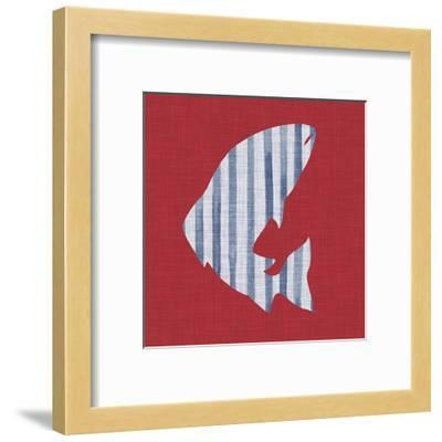 Lakeside Silhouette II-Grace Popp-Framed Art Print