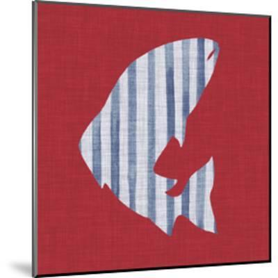 Lakeside Silhouette II-Grace Popp-Mounted Art Print