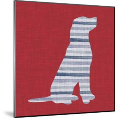 Lakeside Silhouette IV-Grace Popp-Mounted Art Print