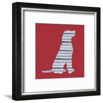 Lakeside Silhouette IV-Grace Popp-Framed Art Print