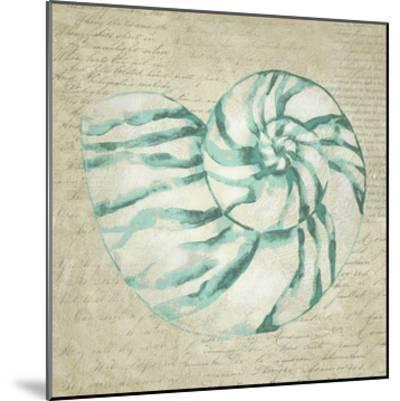 Seafoam Shell I-Chariklia Zarris-Mounted Art Print