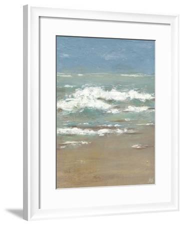 Waves I-Jade Reynolds-Framed Art Print