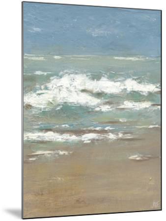 Waves I-Jade Reynolds-Mounted Art Print