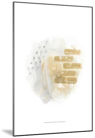 Saffron Energy II-June Erica Vess-Mounted Art Print
