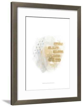 Saffron Energy II-June Erica Vess-Framed Art Print