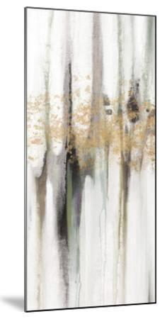 Falling Gold Leaf I-Studio W-Mounted Art Print