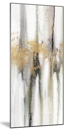 Falling Gold Leaf II-Studio W-Mounted Art Print