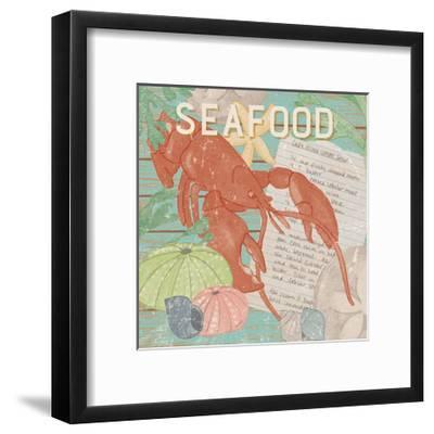 Fresh Seafood II-Leslie Mark-Framed Art Print