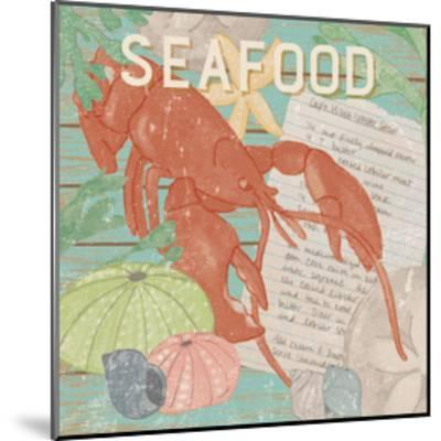 Fresh Seafood II-Leslie Mark-Mounted Art Print