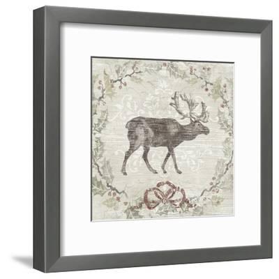 Cabin Christmas V-June Erica Vess-Framed Art Print